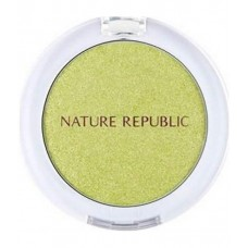 Тени для век NATURE REPUBLIC BY FLOWER EYESHADOW 11 LIME GREEN 3гр