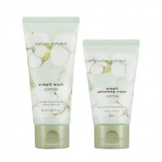 Сет для ухода за подмышками NATURE REPUBLIC COTTON ARMPIT KIT 80мл/50мл