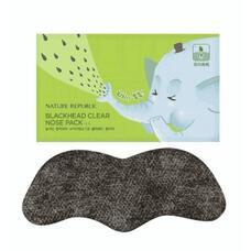 Патч для сужения и очищения пор носа NATURE REPUBLIC BLACKHEAD CLEAR  NOSE PACK(1EA) 1шт