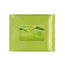 Салфетки очищающие Nature Republic (pouch) JEJU Saprkling Cleansing Tissue 5 шт
