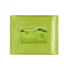 Салфетки очищающие Nature Republic (pouch) JEJU Saprkling Cleansing Tissue 5 шт
