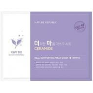 Маска тканевая для чувствительной кожи NATURE REPUBLIC REAL COMFORTING MASK SHEET CERAMIDE 24 гр