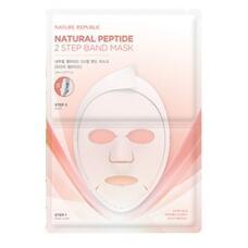 Маска для лица двухшаговая NATURE REPUBLIC Natural Peptide 2 step Band Mask Sheet (Schizadra Pertide) 23 мл