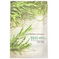 Маска для лица листовая NATURE REPUBLIC REAL NATURE TEA TREE MASK SHEET 23 гр