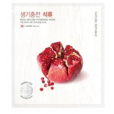 Маска для лица гидрогелевая NATURE REPUBLIC REAL NATURE POMEGRANATE HYDROGEL MASK 22 гр