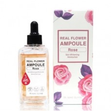 Сыворотка для лица MAYISLAND Real Flower Ampoule Rose