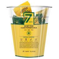 Скраб для лица MAYISLAND 7Days Secret pore clear powder scrub 5гр*12