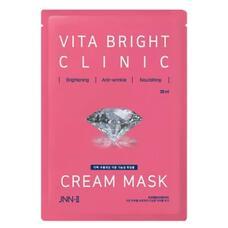 Маска тканевая для яркости кожи JUNGNANI JNN-II VITA BRIGHT CLINIC CREAM MASK 30 мл