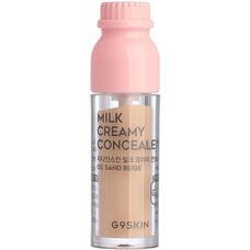 Консилер минеральный G9SKIN Milk Creamy Concealer 03. Sand Beige 6,5 гр