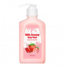 Гель для душа G9SKIN MILK CREAMY BODY WASH STRAWBERRY 520 гр