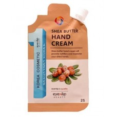 Крем для рук EYENLIP POCKET SHEA BUTTER HAND CREAM 25 гр