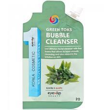 Пенка для умывания EYENLIP GREEN TOKS BUBBLE CLEANSER 20 гр