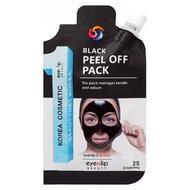 Маска-пленка очищающая EYENLIP BLACK PEEL OFF PACK 25 гр