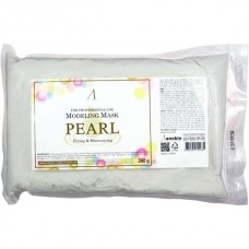 Маска альгинатная экстр. жемчуга увл, осветл. (пакет) ANSKIN Original Pearl Modeling Mask Refill 240гр