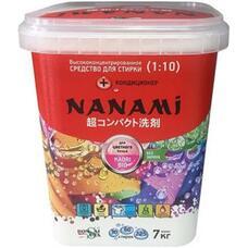 Супер концентрированный стир.порошок для цветного и белого белья NAN KAORI BIO 0,7 кг