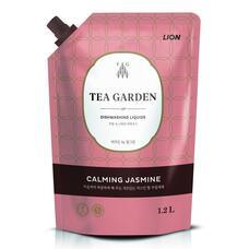 Концентрированное средство для мытья посуды LION Chamgreen Tea Garden Жасмин мягкая уп. 1250 гр
