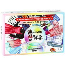 Суперконцентрированные пластинки KENSAI для цветного белья 30 штук 120 гр