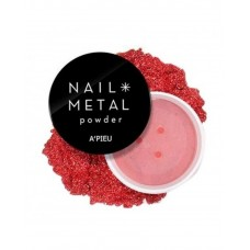Пудра для ногтей A'PIEU Nail Metal Powder (Red)