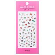 Наклейки для ногтей A'PIEU Water Free Decal (Wink Kiss)