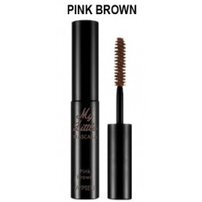 Тушь для ресниц  A'PIEU My Little Mascara (Pink Brown)