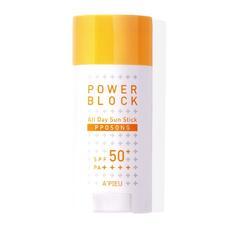 Крем солнцезащитный A'PIEU Power Block Sun Cream (Pposong) SPF50+/PA++++ 50 мл