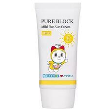 Крем солнцезащитный A'PIEU Pure Block Mild Plus Sun Cream SPF32/PA++ (Doraemon Edition) 50 мл