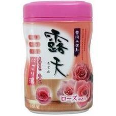 Соль для ванны Fuso Kagaku с бодрящим эффектом и ароматом роз (банка 680 гр.)