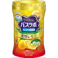 Увлажняющая соль для ванны Hakugen Earth HERS Bath Labo с восстанавливающим эффектом с гиалуроновой кислотой (с ароматом лимона), банка 640 гр