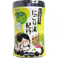 Увлажняющая соль для ванны Hakugen Earth Банное путешествие  с восстанавливающим эффектом (с ароматом цитрусов), банка 600 гр