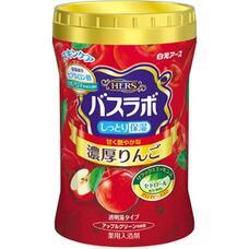 Увлажняющая соль для ванны Hakugen Earth HERS Bath Labo с восстанавливающим эффектом с гиалуроновой кислотой (с ароматом яблока), банка 640 гр