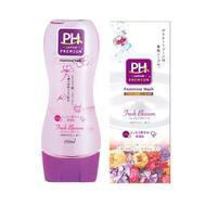 Нежный гель для интимной гигиены  JRS pH Care с пантенолом и растительными экстрактами (с экстрактом ромашки и ароматом весенних цветов) 150 мл