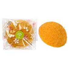 Спонж YAMAMOTO Farm Конняку для умывания лица с экстрактом цитруса юдзу