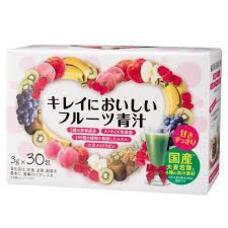 Аодзиру с плацентой и гиалуроновой кислотой Beautiful Delicious Fruit Green Juice № 30