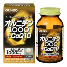 ORIHIRO L-Ornithine CoQ10 Орнитин и коэнзим № 240
