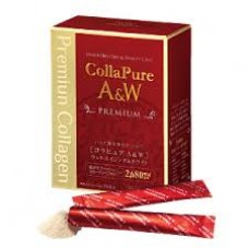 Collapure A&W Premium Well Aging & White Морской коллаген плюс 16 компонентов для красоты и сияния кожи на 15-30 дней