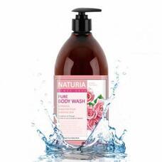 Гель для душа РОЗА/РОЗМАРИН NATURIA PURE BODY WASH (Rose & Rosemary), 750 мл