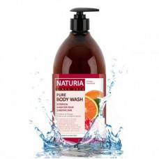 Гель для душа КЛЮКВА/АПЕЛЬСИН NATURIA PURE BODY WASH (Cranberry & Orange), 750 мл