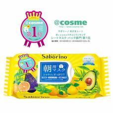Экспресс уход по-японски Успей за 60 секунд BCL Saborino Morning Facial Sheet Mask 32 шт