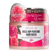 Маска для поврежденных волос WELCOS Around me Rose Hip Perfume Hair Mask 300 гр