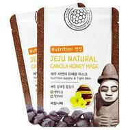 Маска для лица питательная WELCOS Jeju Nature's Canola Honey Mask 20 мл