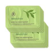 Пенка для очищения пробник Green Tea Moist Cleansing Foam(Pouch) 2мл
