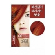 Краска для волос на фруктовой основе WELCOS Fruits Wax Pearl Hair Color #66 60мл*60гр