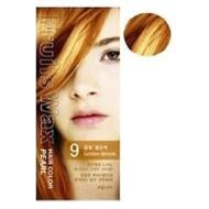 Краска для волос на фруктовой основе WELCOS Fruits Wax Pearl Hair Color #09 60мл*60гр