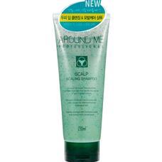 Шампунь-скраб для волос и кожи головы отшелушивающий WELCOS Around Me Scalp Scaling Shampoo 230 мл