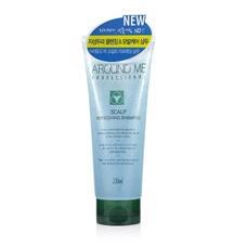 Шампунь для волос и кожи головы тонизирующий WELCOS Around Me Scalp Refreshing Shampoo 230 мл