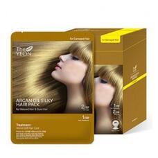Маска для волос с аргановым маслом The YEON Argan oil silky hair pack 25гр