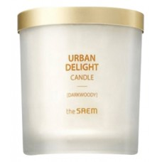 Аромасвеча THE SAEM URBAN DELIGHT CANDLE DARKWOODY 160гр