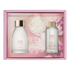Аромадиффузор набор THE SAEM URBAN DELIGHT CANDLE blossom Set 110мл*2