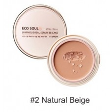 ББ крем THE SAEM Eco Soul Spau BB Cake SPF50+ PA+++ 02 Natural Beige 18гр