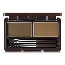 Пудра для бровей 01 THE SAEM Eco Soul Eyebrow Kit 01 Brown 2*2.5гр